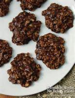 Cookies - No Bake Chocolate Cookies