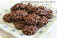 Cookies - No-bake -  No Bakes