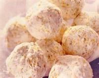 Cookies - No-bake -  Orange Balls