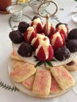 Cookies - Formed Cookies Tea Time Chocolate Logs
