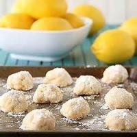 Cookies - Rolled -  Lemon Shortbread Cookies