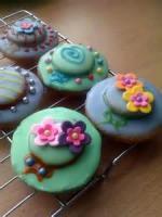 Cookies - Rolled Cookies -  Easter Bonnet Cookies