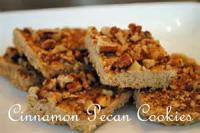 Cookies - Rolled Cookies Cinnamon Pecan Cookies