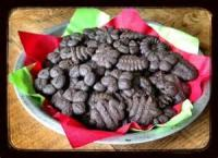 Cookies - Pressed Cookies Chocolate-peppermint Cookies