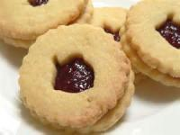Cookies - Rolled Cookies Jam Shortbread Cookies