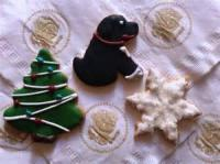 Cookies - Rolled Cookies White House Gingerbread Cookies