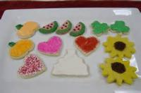 Cookies - Rolled Cookies White Velvet Cut Outs