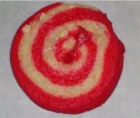 Cookies - Sliced Cookies Cherry Almond Pinwheels