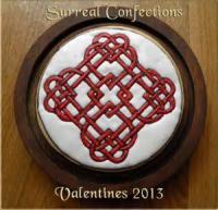 Cookies - Rolled Cookies Valentine Heart Necklaces
