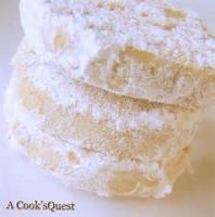 Cookies - Sliced -  Lemon Melt-aways