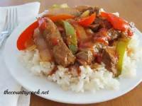 Crock_pot - Pepper Steak