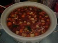 Crock_pot - Vegetable -  Fresh Green Beans In Crockpot