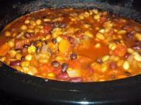 Crock_pot - Chili -  Vegetable Chili
