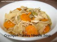 Crock_pot - Turkey Noodle Soup