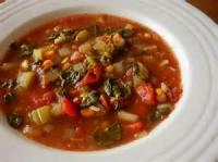 Crock_pot - Soup -  Vegetable Soup In Crockpot