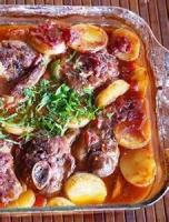 Casseroles - Lamb -  Lamb Chop Casserole