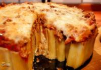 Casseroles - Pasta -  Baked Manacotti