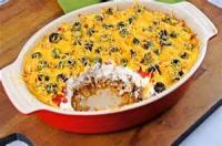 Casseroles - Mexican Sour Cream Chili Bake