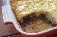 Casseroles - Lamb Sheppard Pie
