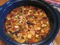 Crock_pot - Vegetarian Enchilada Casserole