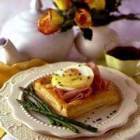Dairy - Cheese -  Ham And Brie Puff