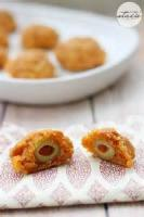 Dairy - Cheese -  Olive Filled Cheese Balls