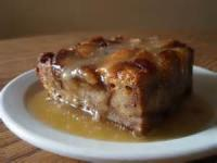 Desserts - Bread Pudding With Whiskey Sauce