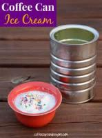 Dairy - Ice Cream In A Coffee Can