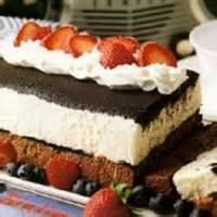 Desserts - Cake -  White And Dark Chocolate Ice Box Cake