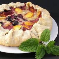 Desserts - Cobbler -  Custard Topped Apricot Cobbler