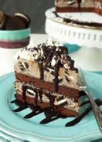 Desserts - Cake -  Cookies-and-cream Ice Cream Cake