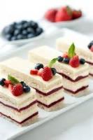 Desserts - Raspberry Bavarian Cake