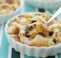 Desserts - Bread Pudding -  Warm Chocolate Croissant Pudding