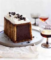 Desserts - Cake -  Diplomatico (chocolate, Rum And Coffee Cake)