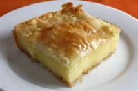 Desserts - Galaktoboureko
