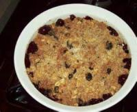 Desserts - Mulberry Crisp
