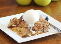 Desserts - Crisp -  Old-fashioned Apple Crisp