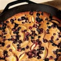 Desserts - Peach And Blueberry Cobbler