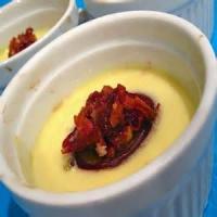 Desserts - Custard -  Honey Almond Custard