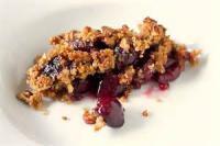 Desserts - Cherry Crisp