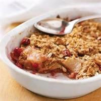 Desserts - Cranberry Apple Crisp
