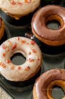 Desserts - Doughnuts -  Spiced Baked Doughnuts