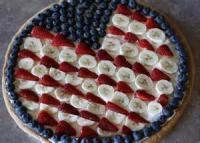 Desserts - Fruit -  Fourth Of July Flag