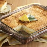 Desserts - Pineapple Cream Squares