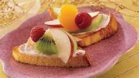 Desserts - Fruit Bruschetta
