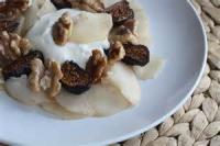 Desserts - Fig's With Ricotta, Honey And Walnuts