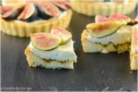 Desserts - Figs With Honey And Mascarpone