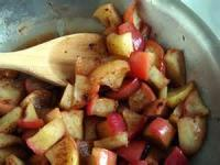 Desserts - Fruit -  Sauteed Apples In Vanilla Butter