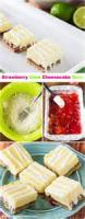 Desserts - Strawberry Lime Squares