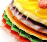 Desserts - Gelatin -  Lemon-lime Jell-o Mold